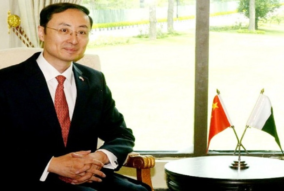 CPEC made part of China's 13th five-year development plan:Chinese Ambassador