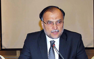 CPEC project to be completed in phases: Ahsan Iqbal
