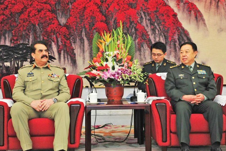 China vows support for CPEC security