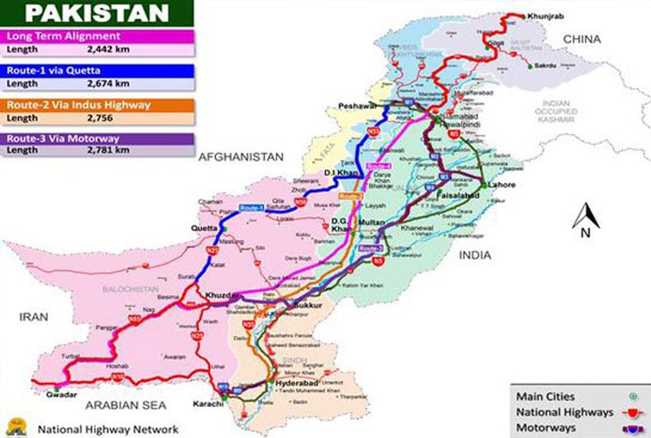 پاکستان اور چین کے مابین راہدری پر پیش رفت