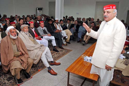 Peace must for CPEC success: ANP