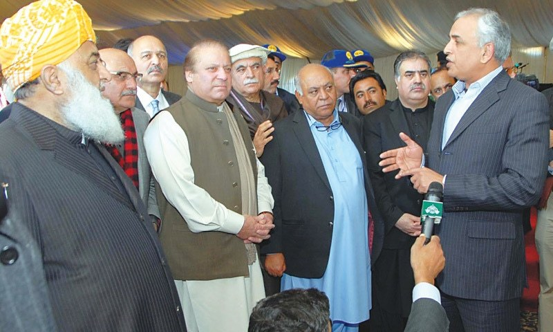 PM lays foundation stone of CPEC's western route
