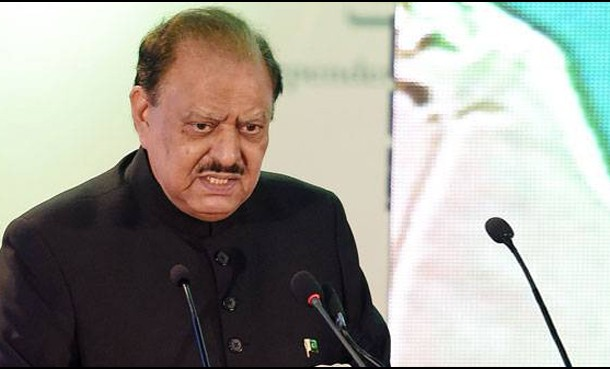 CPEC would change fate of people of Pakistan: President