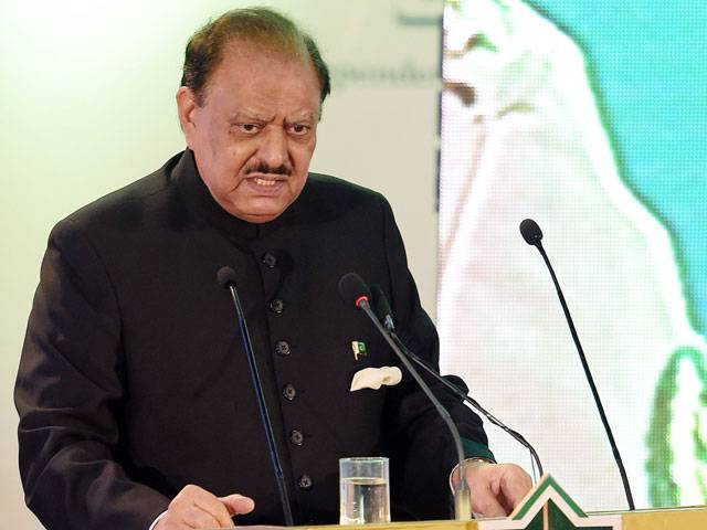 Mamnoon Hussain says CPEC would prove a game changer not only for Pakistan but for whole region