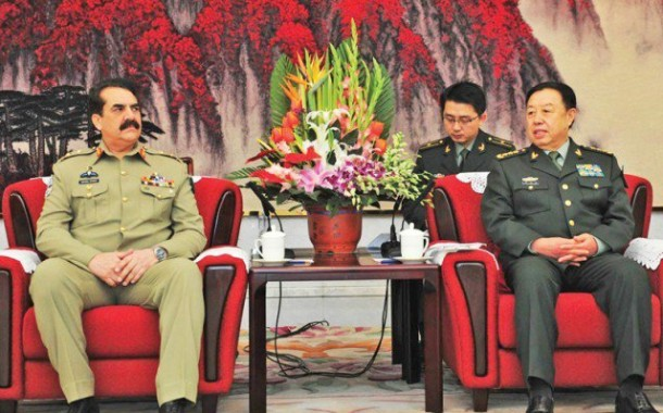 Gen Sharif lands in China to discuss CPEC security