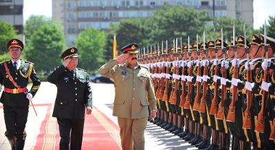 Pak, China, Afghan army chiefs form regional mechanism against terrorism
