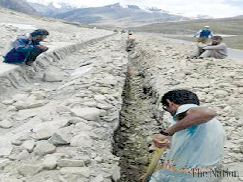 Work on CPEC optical fiber starts in Khunjerab