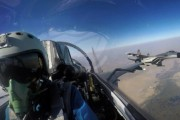 China Pakistan Air Forces hold joint training exercises